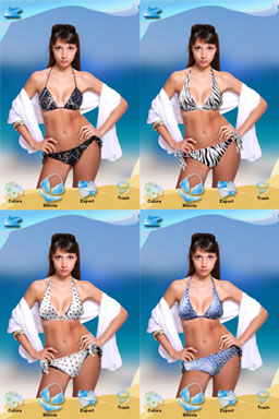 Bikini app for ipod touch